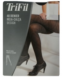 dc3496150 Meia Calca Fio 40 Design Mescla Grande Trifil